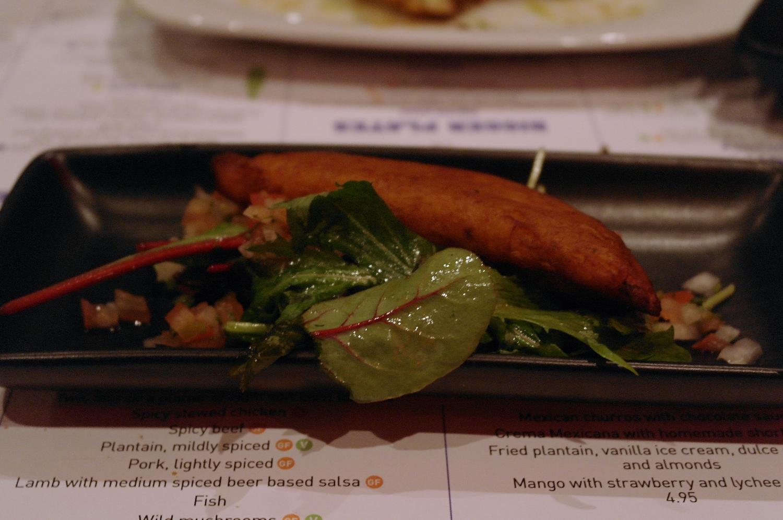 Plantain empanada
